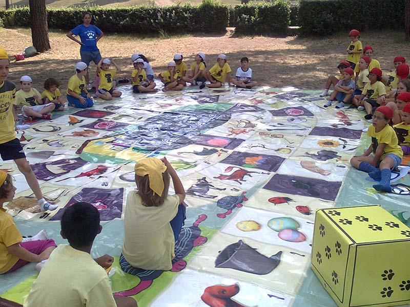 Gioco dell'oca nel parco, festa dove i bambini nono le pedine del gioco dell'oca! fai diverire i tuoi bambini con questo must (4)