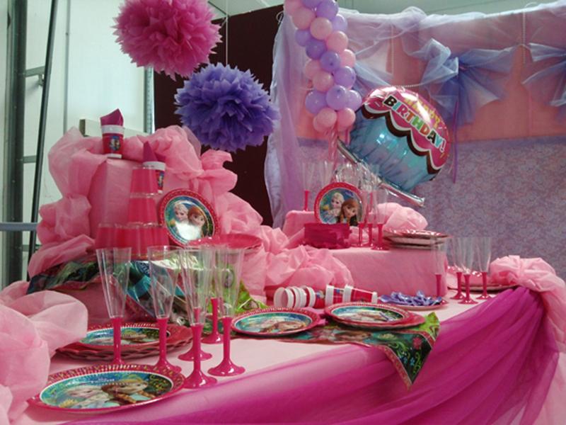 Tavolo Compleanno Bambina : Decorazioni « le feste del viandante