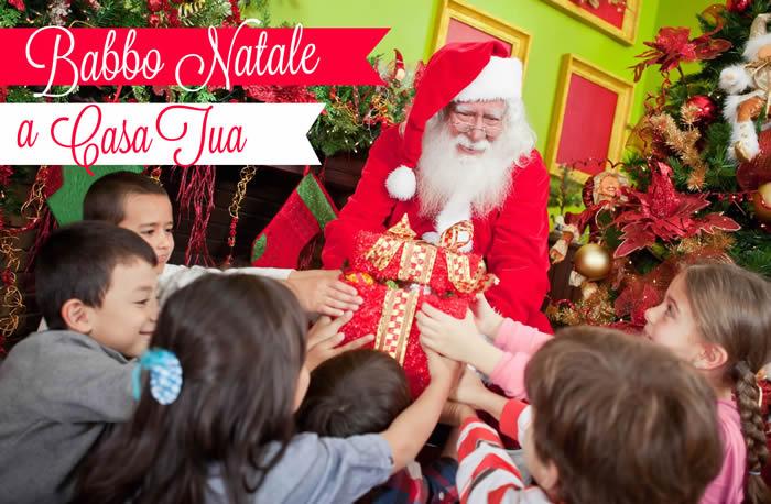 Babbo Natale A Casa Tua Roma