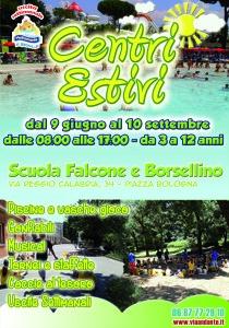Locandina Falcone e Borsellino