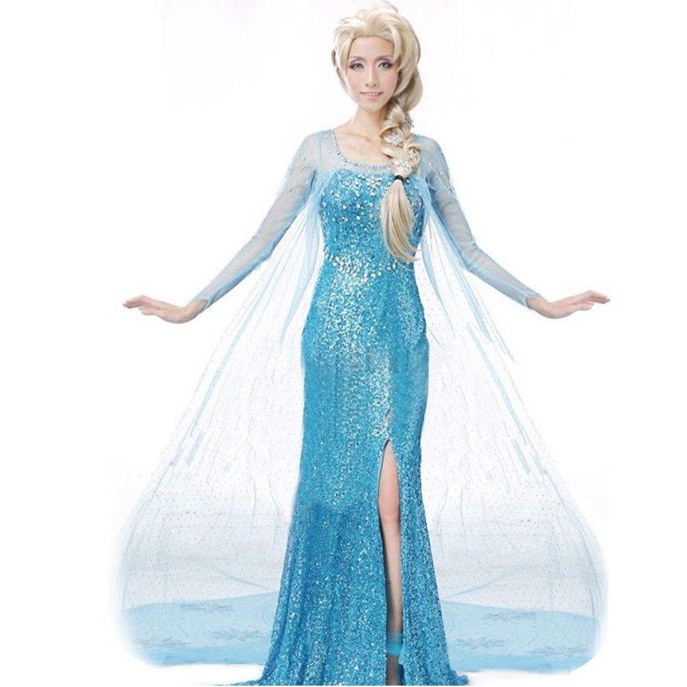 Mascotte costumi e attrezzature le feste del viandante - Princesse reine des neiges ...